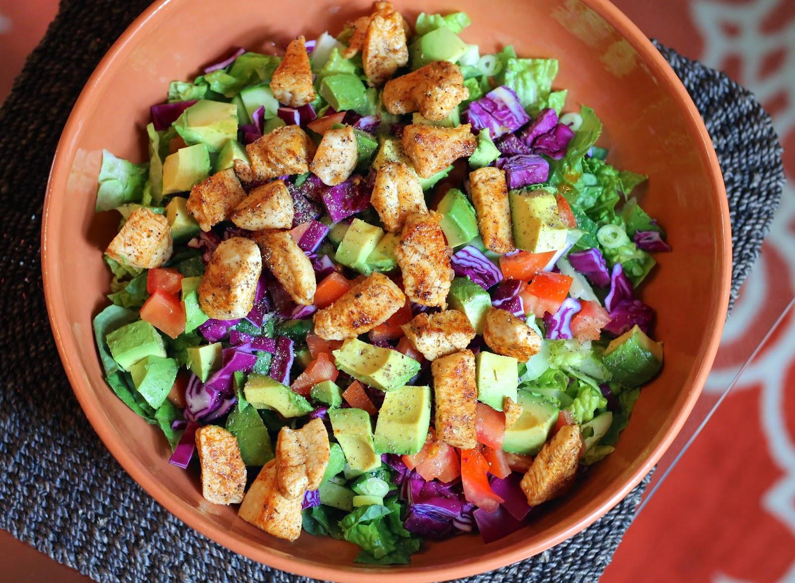 Quesadilla Chicken Salad