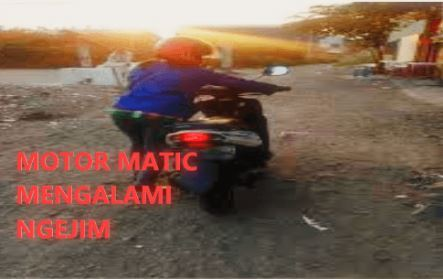 3 Penyebab Motor Ngejim Panas Pada Motor Matic
