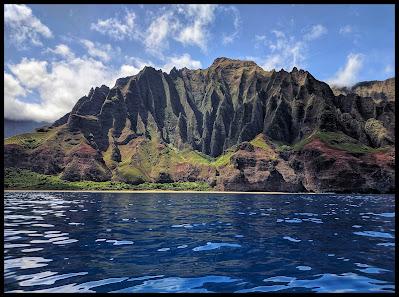 NaPali Coastline - Kalalau Beach - Kauai