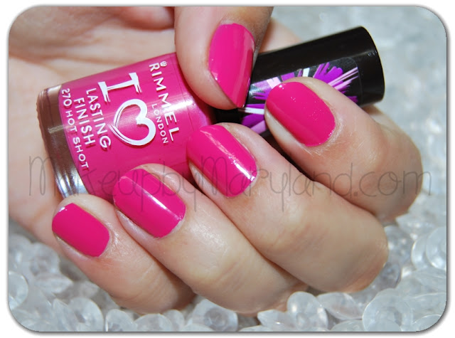 El esmalte de la semana: 270 Hot Spot - I love lasting finish de Rimmel London-92-makeupbymariland