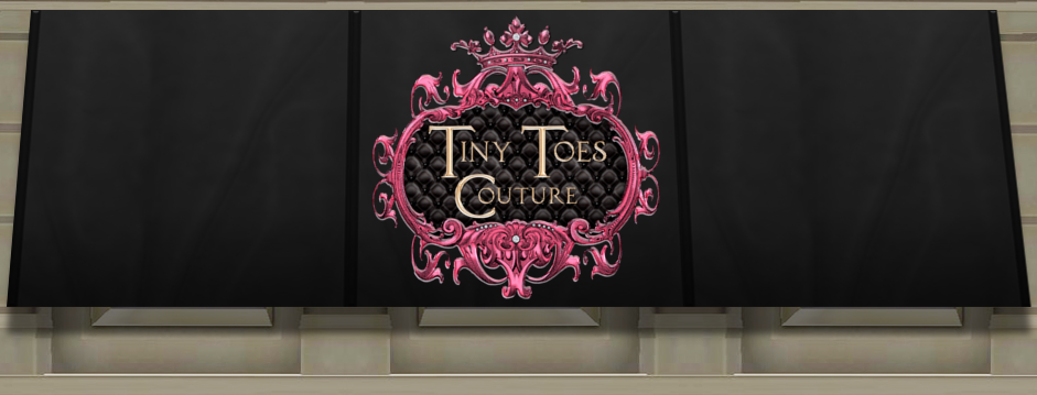 Tiny Toes Couture: Full Color 1:24 Scale Courtly Check Round