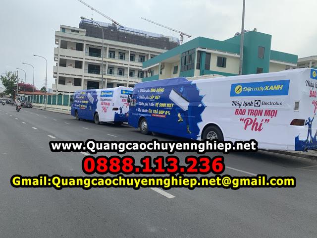 Roadshow ô tô 45 chỗ tại Sài gòn