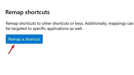 إعادة تعيين مفاتيح لوحة المفاتيح في جهاز كمبيوتر في وينذوز10