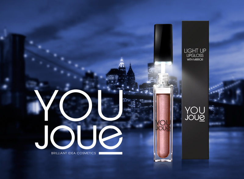 You Joue Light Up Lipgloss On Packaging Of The World