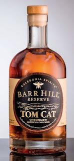 Photo of bottle of Barr Hill Tom Cat gin.