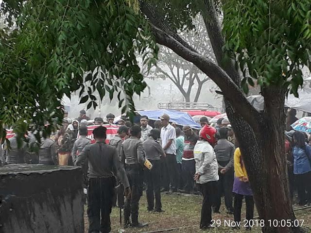 Warga Sangliat Krawain Minta PN Saumlaki Tunda Eksekusi Lahan