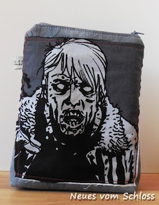 The walking dead, Tüddel- Tasche, upcycling, Nerd, do4you- neuesvomschloss.blogspot.de