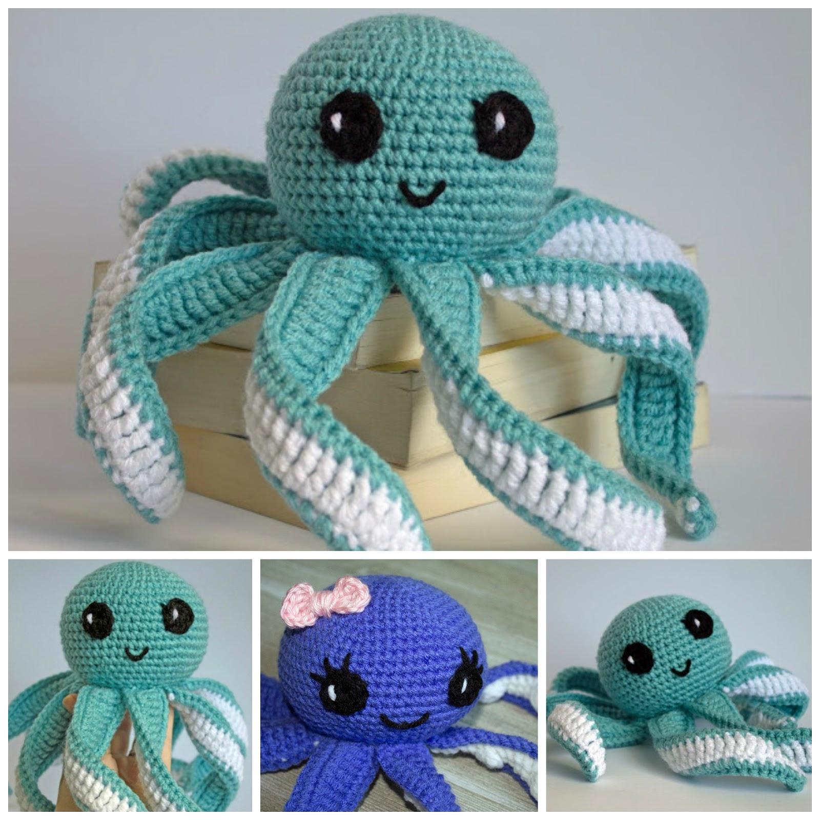 Amigurumi octopus | Free amigurumi and crochet patterns | lilleliis | 1600x1600