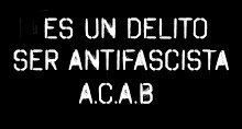 Antifas a prisión