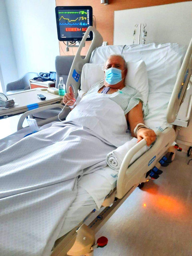 Andrés Zarhi tuvo cirugía a corazón abierto