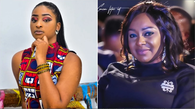 'So you have also joined 'our' single moms group chat' - Victoria Inyama says as she responds to the birth of Etinosa Idemudia's baby