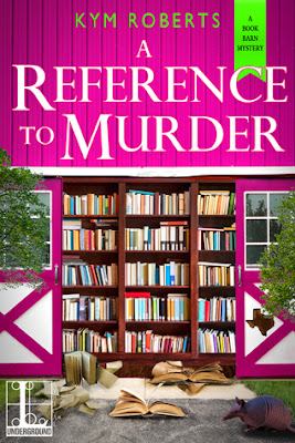 Bea's Book Nook, Review, A Reference to Murder, Kym Roberts, Giveaway!