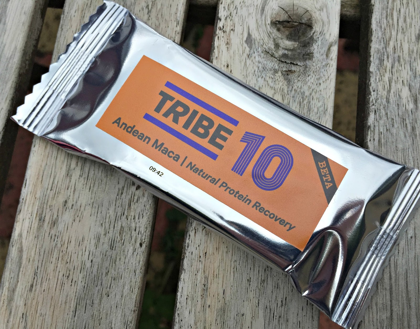 Tribe Andean Maca Natural Protein Recovery Bar