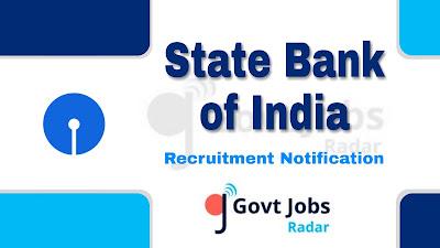 SBI recruitment notification 2019, govt jobs in india, govt jobs for engineers, govt jobs for post graduates, central govt jobs, bank jobs, banking jobs