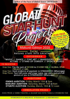 Office Of Face Of Global Queen Presents Global Star Hunt Project