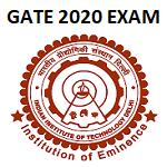 GATE 2020 Admission Form