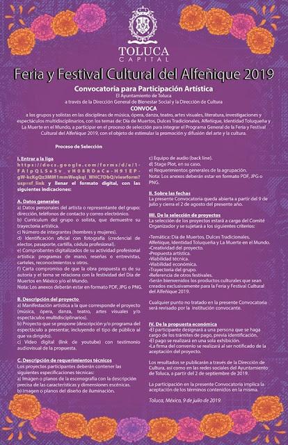 feria y festival del alfeñique toluca 2019