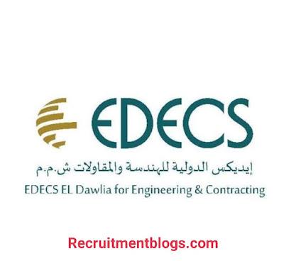 EDECS El Dawlia for Engineering & Contracting Internship