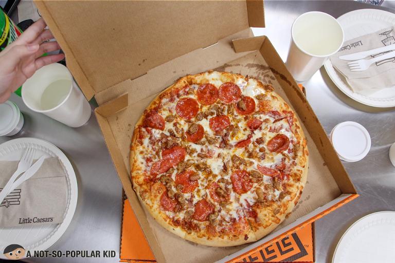 Little Caesar's Pizza Makes a Comeback in Manila