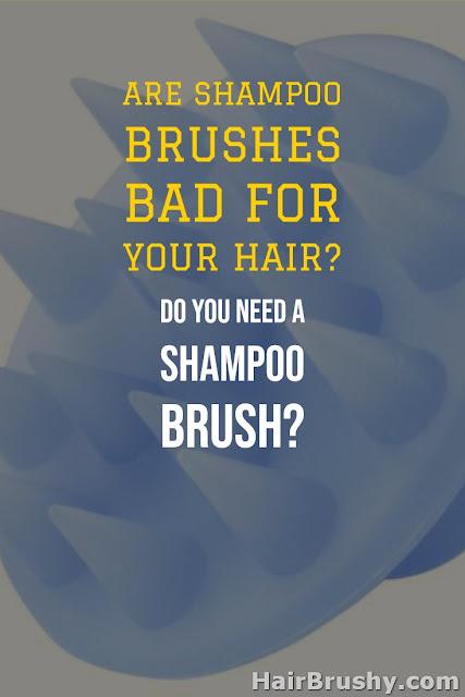 Shampoo brush