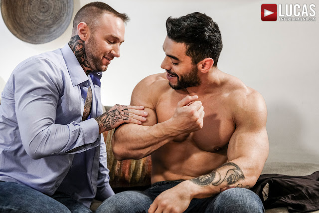 LucasEntertainment - ARAD WINWIN POUNDS DYLAN JAMES IN THE ASS