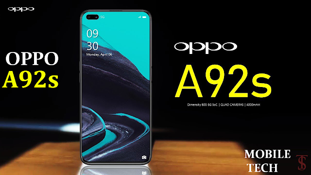 OPPO A92s | تعرف على مواصفات وسعر هاتف أوبو A92 s