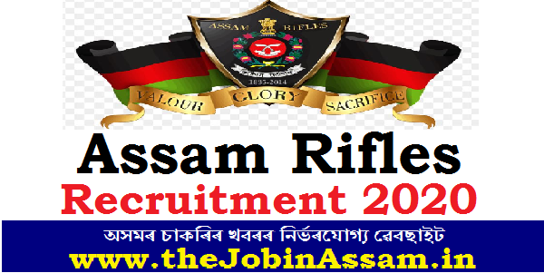 Assam Rifles Recruitment 2020: Apply for 04 Doctors Posts