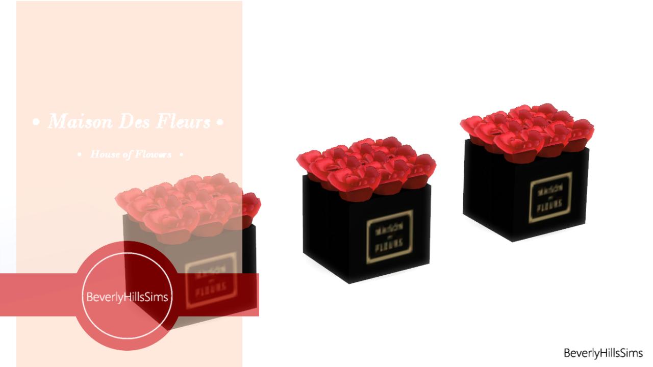 My sims 4 blog masion des fleurs bouquet by beverlyhillssims for Bouquet de fleurs 2016
