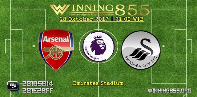 Prediksi Bola Arsenal vs Swansea City | 28 Oktober 2017