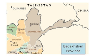 Badakhshan province North-east of Afghanistan