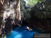 Menuju Gua Haji Mangku atau Blue Cave
