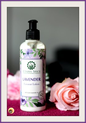 Utama Spice Lavender Coconut Lotion Review