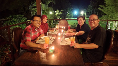 Romantic Dinner in BS Resto