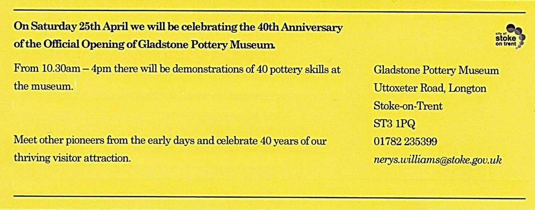 Gladstone Pottery Museum Story - Forty History