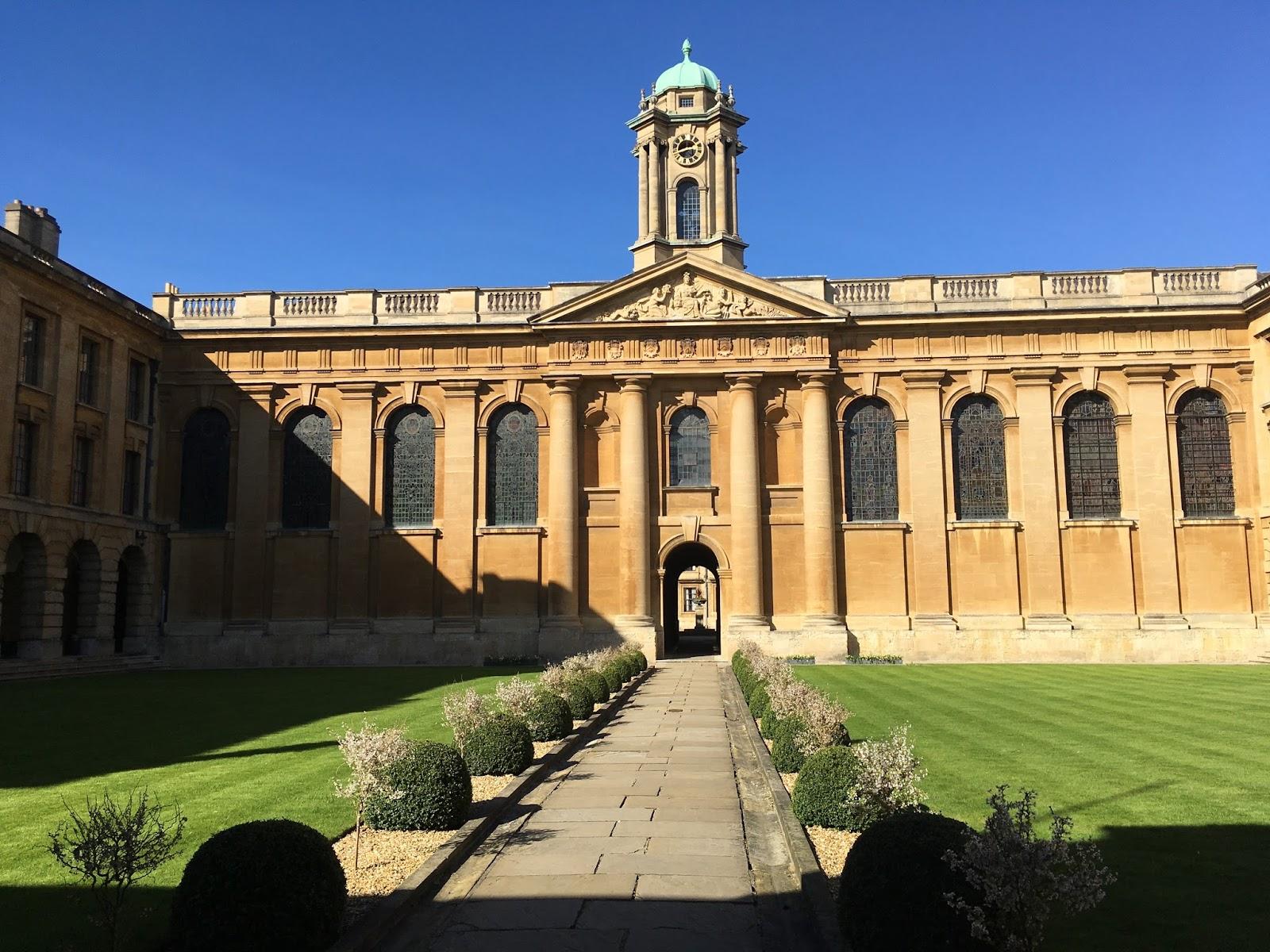 Orte in Oxford zu treffen