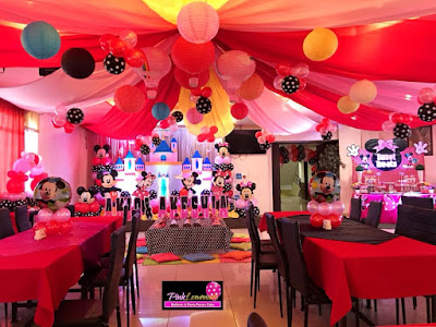Mickey and Minnie themed Party
