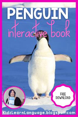 penguin interactive book and activities