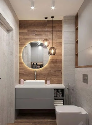 decoration of small bathrooms tips