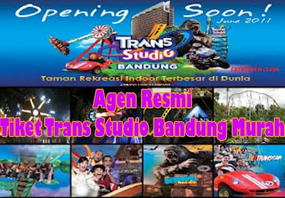 Agen Tiket Resmi Trans Studio Bandung Murah
