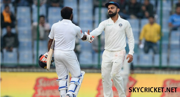 India v Sri Lanka third Test end in draw