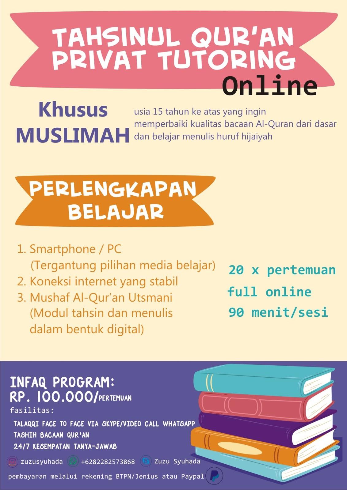 belajar tahsin online