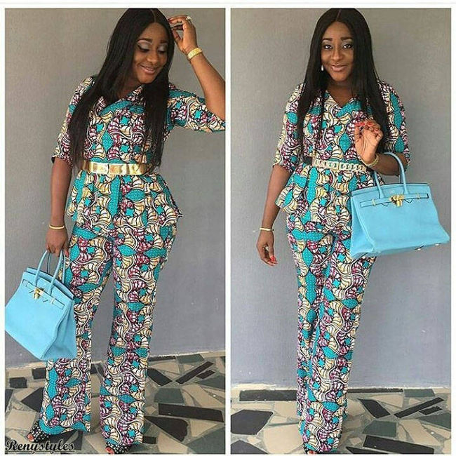 10 New And Latest Ankara Peplumtops Styles And Designs For Ladies