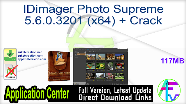 IDimager Photo Supreme 5.6.0.3201 (x64) + Crack
