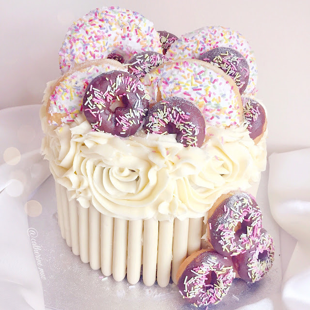 Doughnut/Donut Themed Birthday Cake