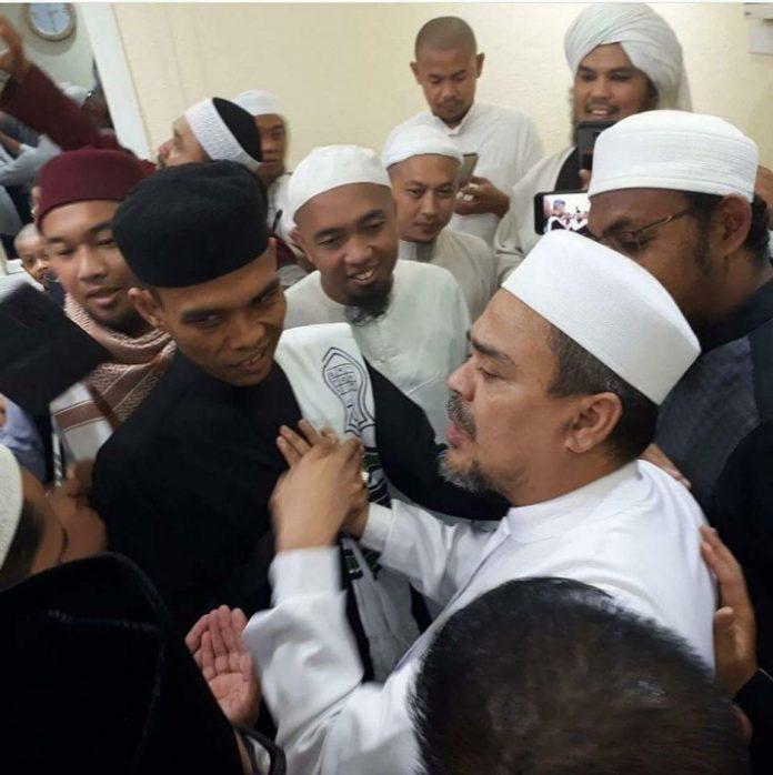 Menyentuh, Habib Rizieq Shihab: Ane Hijrah Ke Makkah, Allah Munculkan Ustadz Abdul Somad Di Indonesia