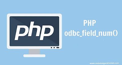PHP odbc_field_num() Function