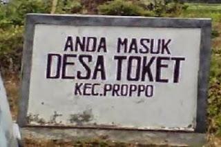 Pemekasan Madura: Desa T0ket