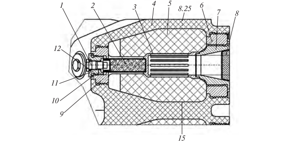 Конструкція імпульсних твердопаливних ракетних двигунів