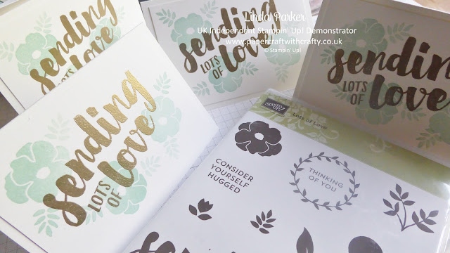 Lots of Love stamp set from Stampin' Up!