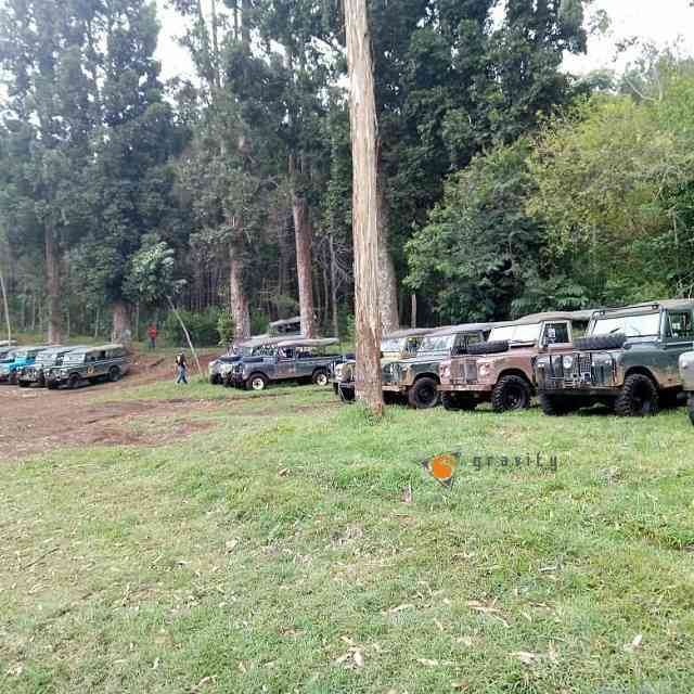 mobil offroad di venue gravity adventure yang siap on the road